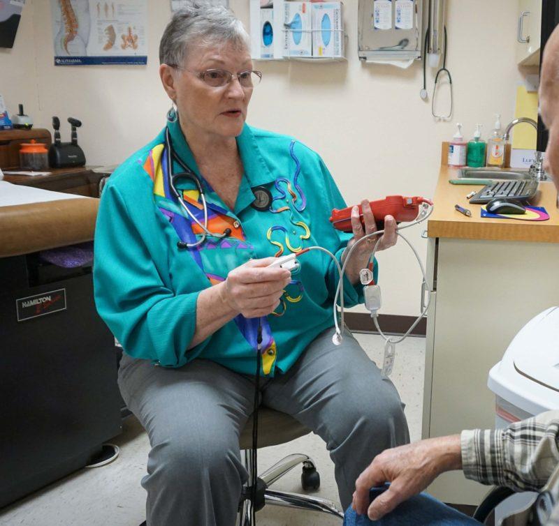 Physician Assistant Sharon DeHart