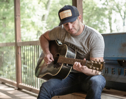Country music star Easton Corbin